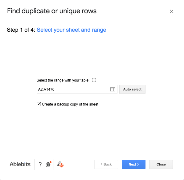 Find Duplicate or Unique Rows